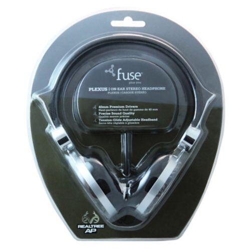 Fuse Realtree Plexus On-Ear Stereo Headphones Product image