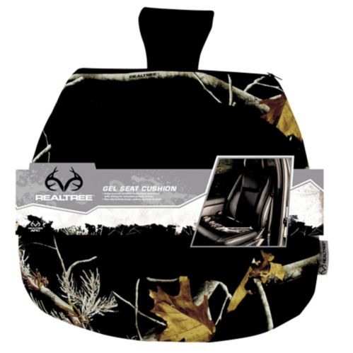 Realtree Gel Seat Cushion, APC Black Product image