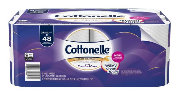 Cottonelle Ultra Double Roll Toilet Paper, 24-Roll Product image