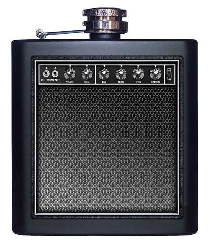 Speaker Styled Flask Set, 6-oz Product image