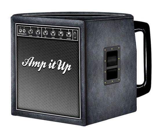 Amp It Up Guitar Amp Shaped Mug Product image