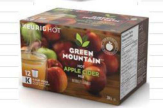 Keurig Green Mountain Hot Apple Cider Mix K-Cup Pods, 12-pk Product image