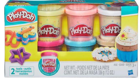 Play-Doh Confetti Compound Collection, 6-pk