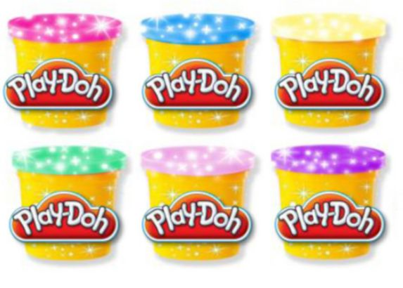 Play-Doh Sparkle Compound Collection, 6-pk Product image