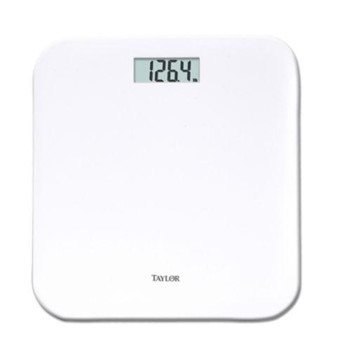Balance numérique coussinée, blanc, 400 lb Image de l'article