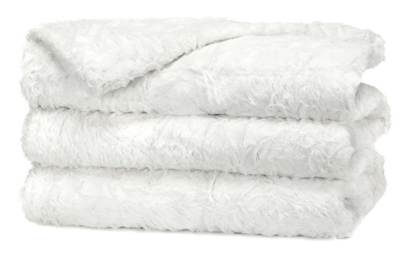 Sunbeam Faux Fur Heated Throw Blanket