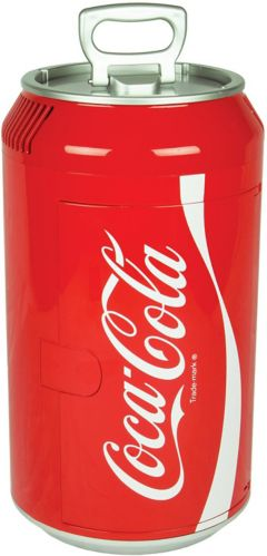 Coca-Cola Mini Thermoelectric Cooler, 8-Can