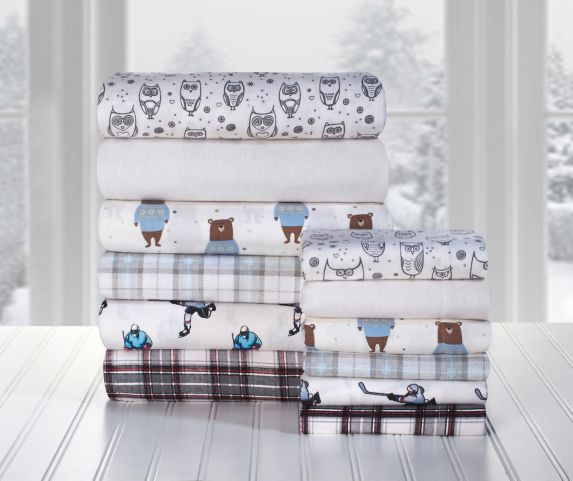 Martex King Flannel Assorted Sheet Set Product image