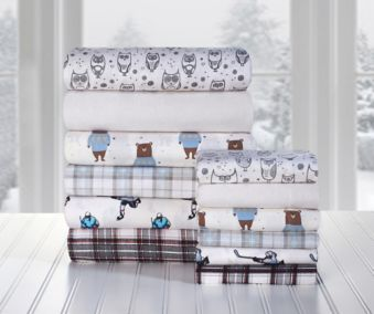 Martex King Flannel Assorted Sheet Set Canadian Tire