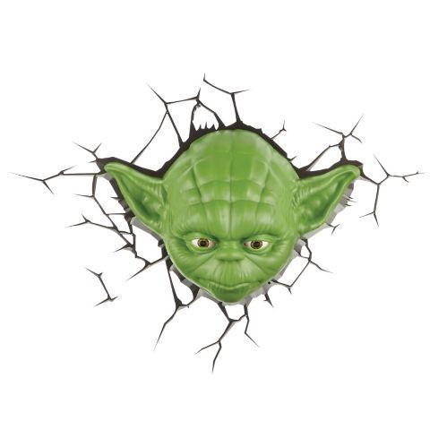 Veilleuse à DEL de la Guerre des étoiles Yoda Image de l'article