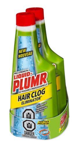 Éliminateurs de bouchons de cheveux Liquid-Plumr, 473 ml, 2 Image de l'article