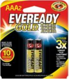 Piles alcalines AAA Eveready Gold, paq. 2 | Evereadynull