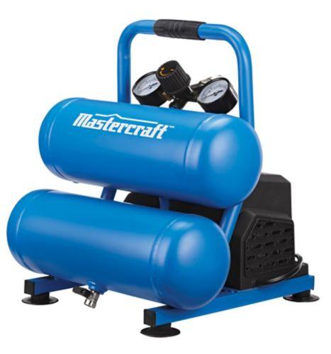 Compresseur d'air de 2 gallons à 2 réservoirs Mastercraft Image de l'article