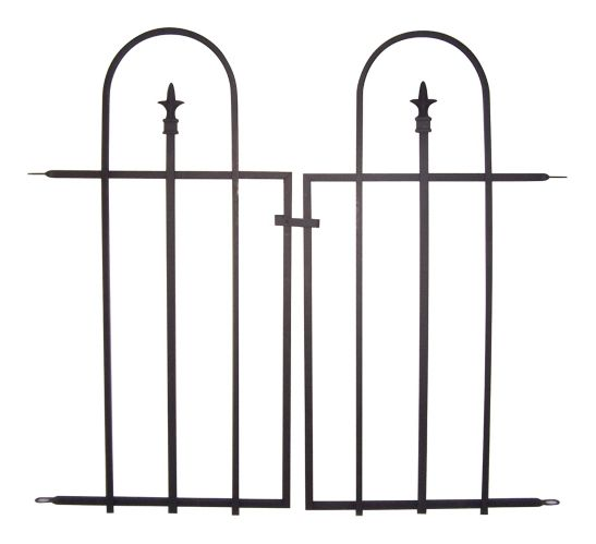 Panacea Triple Arched Sectional Fence Gate, 34 x 36-in Product image
