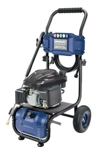 Simoniz 2600 PSI Gas Pressure Washer