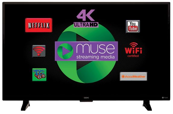Seiki Ultra High Definition 4K Smart TV, 48-in Product image