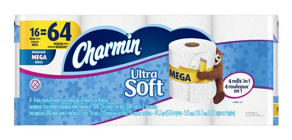 Charmin Ultra Toilet Paper, 16-Roll Product image