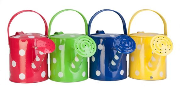 Polka Dot Watering Can, Assorted Colours, 1.9 L Product image