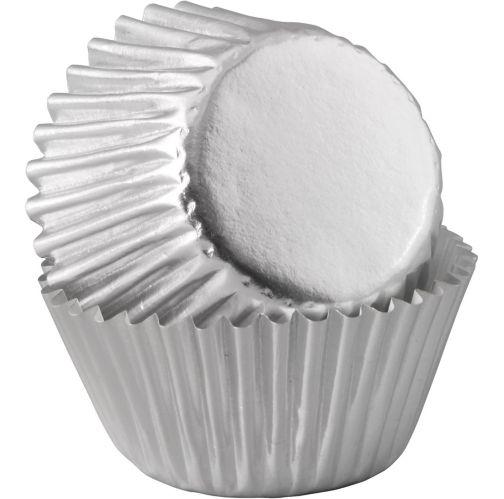 Wilton Silver Foil Baking Cups, 80-pk Product image