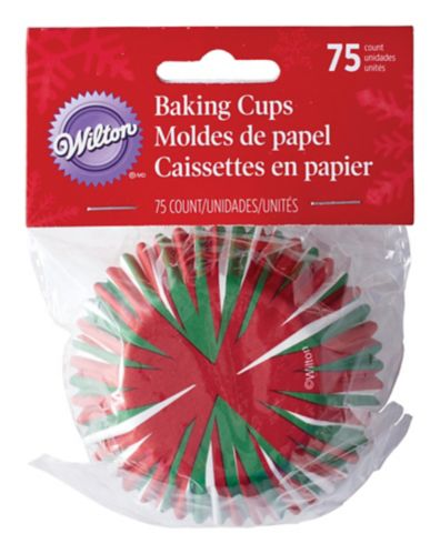 Wilton Baking Cups, Holiday, 75-pk Product image