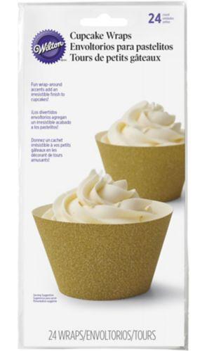 Emballages à petit gâteau Wilton, or, paq. 24 Image de l'article