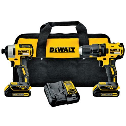 DEWALT 20V Max Li-Ion Brushless Cordless Combo Kit Product image
