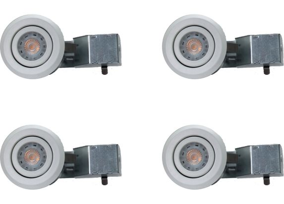 NadairRecessed White LED Lights, 3-in, 4-pk Product image