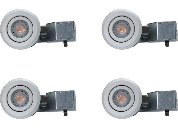 Lumières encastrées à DEL Nadair, blanc, 3 po, paq. 4 Image de l'article