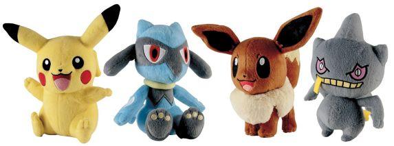 Jouet en peluche Pokémon, choix variés Image de l'article