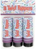 New Year's Eve Twist Poppers, 3-pc