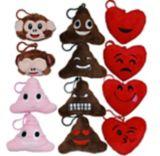 Porte-clés émoticône de la Saint-Valentin