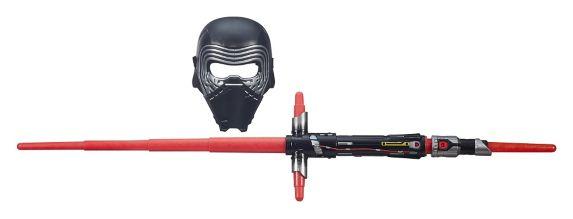 Masque Star Wars de Kylo Ren avec sabre laser Image de l'article