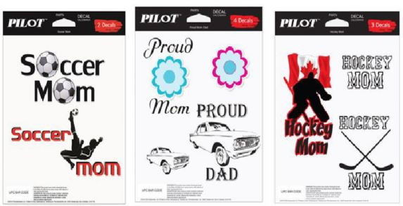 Proud Mom Auto Decal Kit Product image