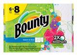 Bounty Print Large Roll Paper Towel, 6-rolls | Bountynull