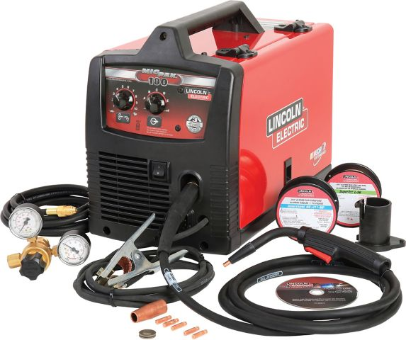 Lincoln Electric Mig-Pak 180 Welder & Accessory Kit Product image