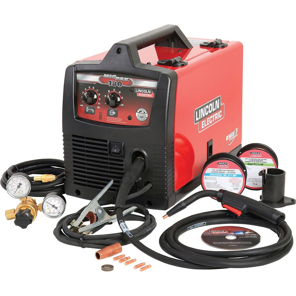 Lincoln Electric Mig-Pak 180 Welder & Accessory Kit