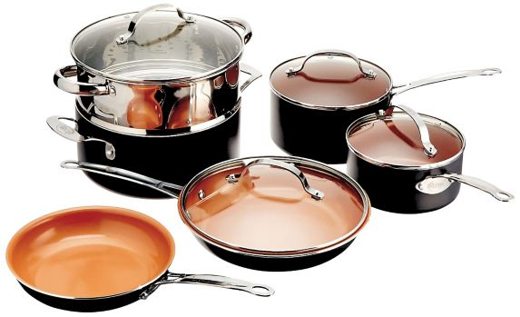 Gotham Steel Non-Stick Cookware Set, 10-pc Product image