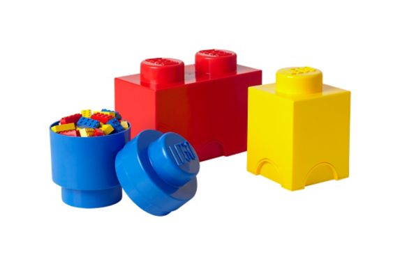 LEGO Stackable Storage Brick, Mixed Pack