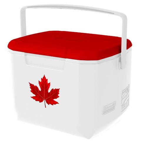 Glacière Coleman de la fête du Canada, 16 pintes Image de l'article