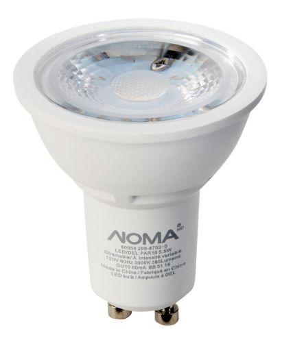 Ampoule à DEL NOMA PAR16 GU10, 50 W, blanc doux Image de l'article