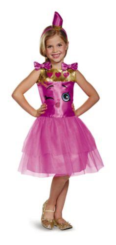 Costume d'Halloween pour enfants Rouge à lèvres Shopkins, moyen Image de l'article