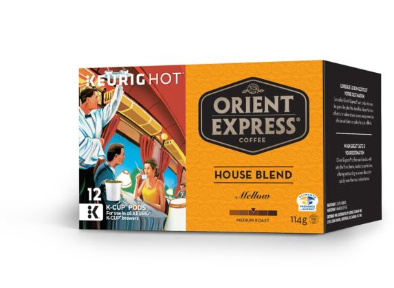 Keurig Orient Express Coffee House Blend K-Cup Pods, 12-pk Product image