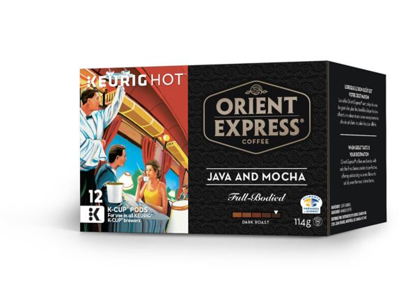 Keurig Orient Express Coffee Java and Mocha K-Cup Pods, 12-pk Product image