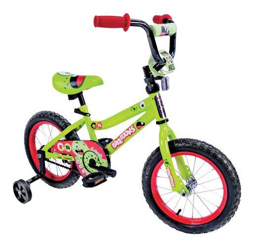 Biketunes Kids' Bike, Green, 14-in Product image