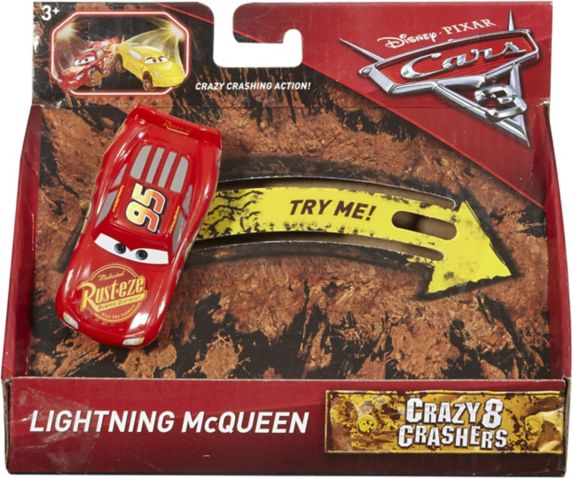 Cars 3 1:55 Scale Crazy 8 Racer Singles, Assorted