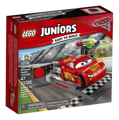 Lego Juniors Cars 3 Lightning McQueen Speed Launcher, 47-pc Product image