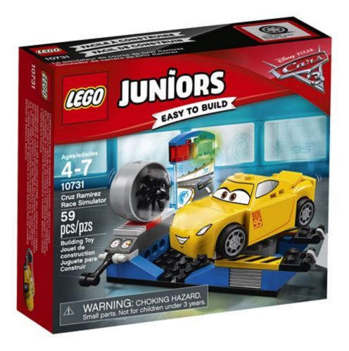 Lego JuniorsCars 3 Cruz Ramirez Race Simulator, 59-pc Product image