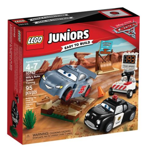 Lego Juniors Les Bagnoles 3, L'entraînement de vitesse à la Butte à Willy, paq. 95 Image de l'article