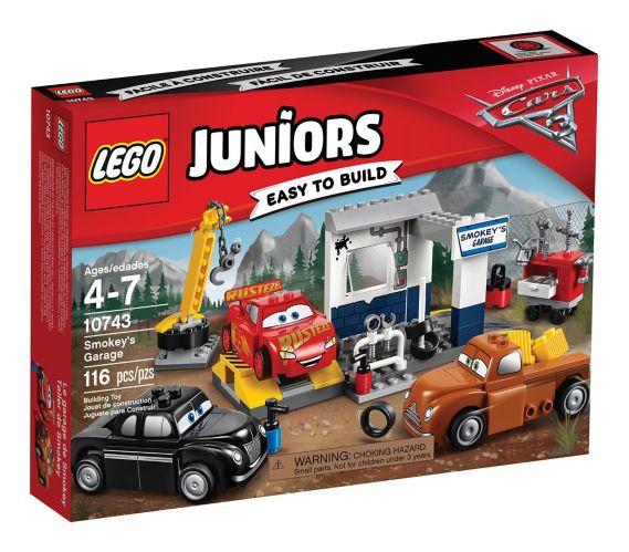 Lego Juniors Les Bagnoles 3, Le garage de Smokey, paq. 116 Image de l'article