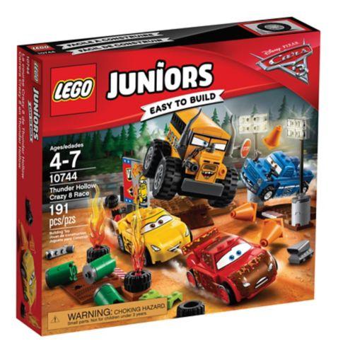 Lego Juniors Les Bagnoles 3, La course Crazy 8 de Thunder Hollow, paq. 191 Image de l'article